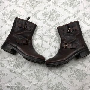 Tory Burch leather boots sz 7 brown